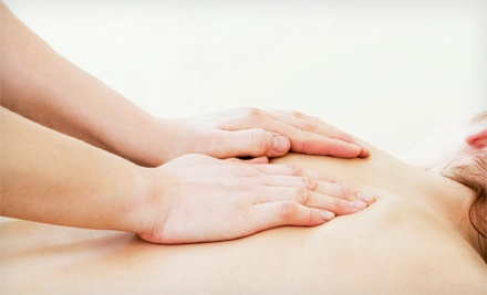 One or Two 60-Minute Swedish or Deep Tissue Massages at CAN Clinic (Up to 62% Off)