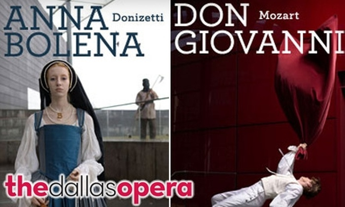 $25 for One Grand Tier Ticket (Up to $69 Value) or $99 for a Five-Performance Grand Tier Subscription (Up to $275 Value) to The Dallas Opera