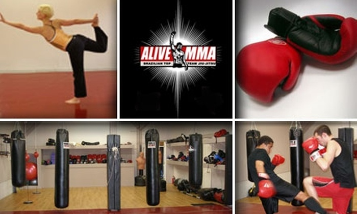 Alive MMA - Woodstock: $49 One-Month Membership to Alive MMA Including Unlimited Access to Classes, Sauna, and More