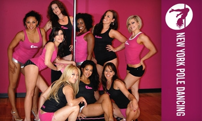 New York Pole Dancing - White Plains: Fitness Packages at New York Pole Dancing. Choose Between Two Options.