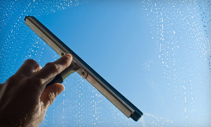 D&K Windows and Gutters - Liberty: Window Washing for One- or Two-Story Home from D&K Windows and Gutters (Up to 62% Off)