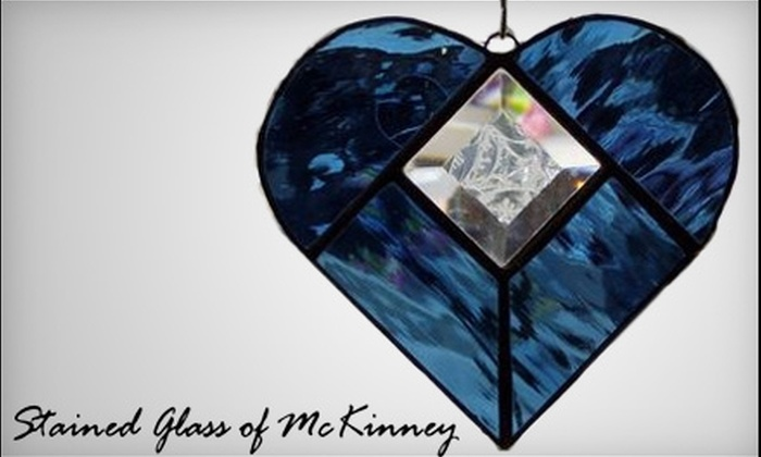 Stained Glass of McKinney - Downtown Mckinney: $35 for an Introductory Stained-Glass Course at Stained Glass of McKinney ($75 Value)
