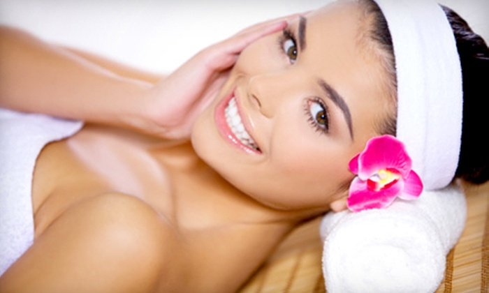 Fountain of Youth Salon Spa - Multiple Locations: $135 for a Spa Day with Facial, Peel, Massage, and Mani-Pedi at Fountain of Youth Aveda Salon Spa ($391 Value)