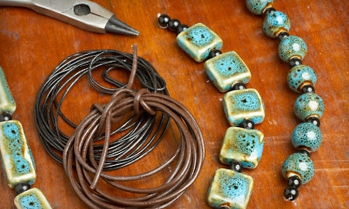 Potomac Bead Company - Hanover: $15 for One Jewelry Making Class Plus $10 Toward Materials at Potomac Bead Company in Hanover (Up to $35 Total Value)