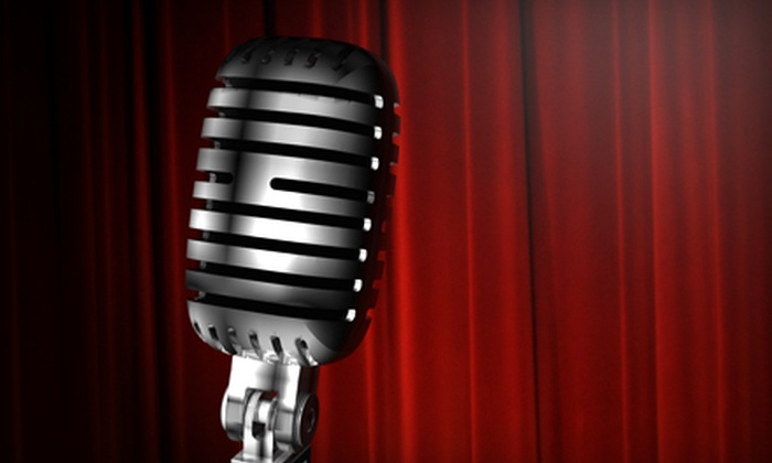 Flappers Comedy Club - Multiple Locations: $15 for a Comedy Night for Two with Wings and Cake at Flappers Comedy Club (Up to $55 Value)