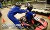 Grand Prix New York - Mount Kisco: Indoor Kart Race, Entree, and Single-Day Membership at Grand Prix New York in Mount Kisco. Choose from Two Options.