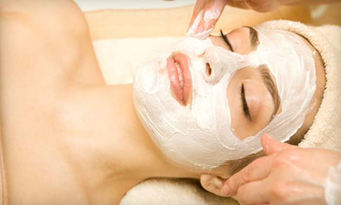 KM Skin & Body - Westlake Village: $50 for an Anti-Aging Facial and Eyebrow Wax at KM Skin & Body ($130 Value)