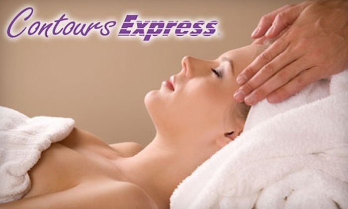 Contours Express - Wadsworth: $45 for Massage, Ionic Foot Detox, and One-Month Gym Membership ($95 Value) or $30 for Massage and Ionic Foot Detox ($65 Value) at Contours Express Wadsworth