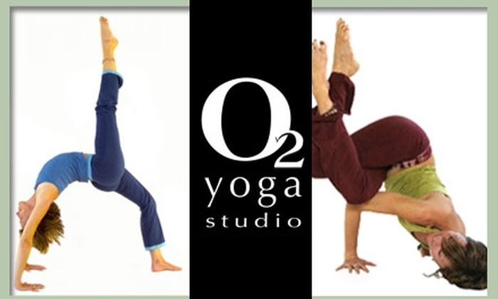 O2 Yoga - Multiple Locations: $50 for One Month of Unlimited Yoga at O2 Yoga ($105 Value)