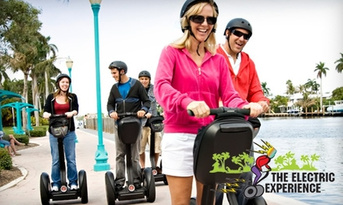 The Electric Experience - Waterway East Condominiums: $19 for a One-Hour Guided Segway Tour ($49 Value) or Two-Hour Electric Bike Rental ($39 Value) at The Electric Experience