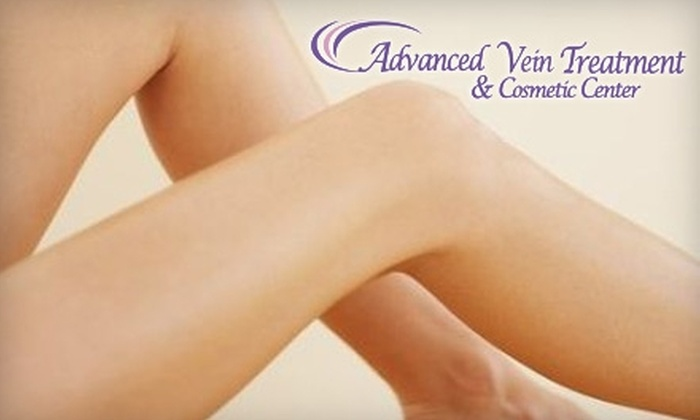 Advanced Vein Treatment & Cosmetic Center - Palos Heights: $150 for Two Spider Vein Treatments at Advanced Vein Treatment & Cosmetic Center ($600 Value)