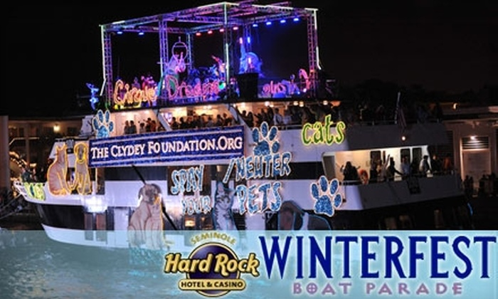 Winterfest Boat Parade - Flagler Heights: $10 for One Adult Ticket to the Winterfest Boat Parade on December 11 ($21 Value)