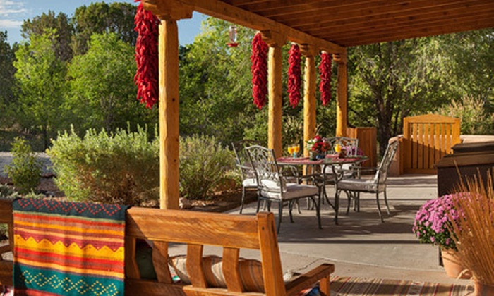 Casa Escondida Bed and Breakfast - Chimayo: $145 for a Two-Night Stay for Two at Casa Escondida Bed and Breakfast (Up to $338 Value)