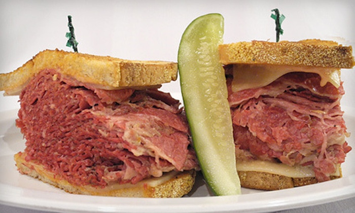 Max's Delicatessen - Birmingham: $25 for $50 Gift Card for Sandwiches and Burgers at Max's Delicatessen