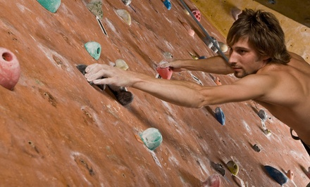 Two Hours of Open-Climb Time for up to Two or Four at Of Rock and Chalk (Up to 58% Off)