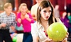 Celebrity Lanes - Valley Club Acres: $35 for Two Hours of Bowling for Up to Six with Shoe Rental and Pizza at Celebrity Lanes in Centennial (Up to $102 Value)