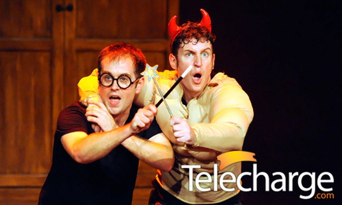 "Potted Potter: ""Harry Potter"" Parody - Hell's Kitchen: ""Potted Potter – The Unauthorized Harry Experience"" on August 24–September 1 at Little Shubert Theatre ($108.49 Value)"