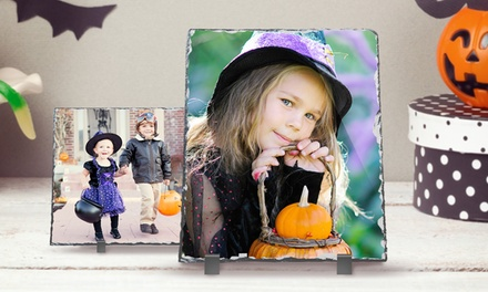 One or Three Custom Photo Prints on Slate from PrinterPix (Up to 86% Off). Three Options Available.