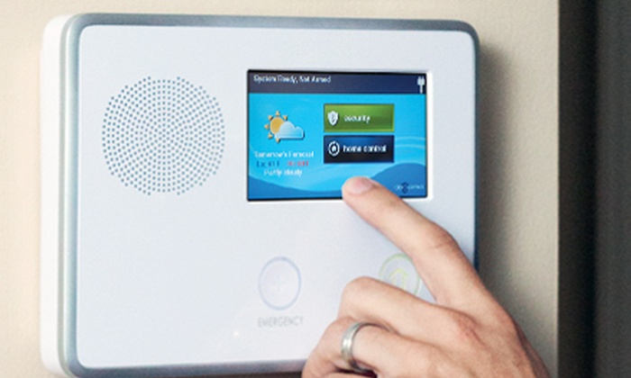 Alliance Security - Sacramento: 6- or 10-Point Home Security System with Three Months of Monitoring from Alliance Security (Up to 70% Off)