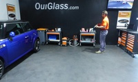 Rénovation des 2 optiques de phares avant à 39,90 € au garage Ouiglass Orthez