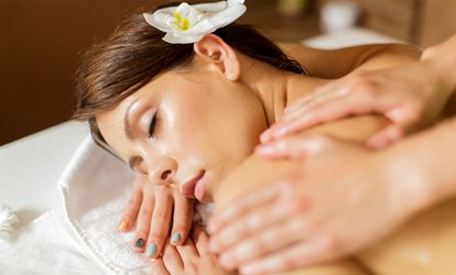 image for Indian Head Massage, CND Shellac Manicure or Reflexology at Sweet Breeze (Up to 50% Off)