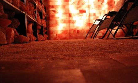One or Three 45-Minute Salt Cave Sessions (Up to 39% Off)