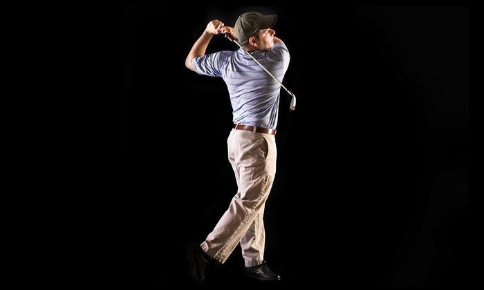 Golf Studio - Pomona: Indoor Simulator Golf, Golf Lesson, or Membership at Golf Studio (Up to 51% Off)