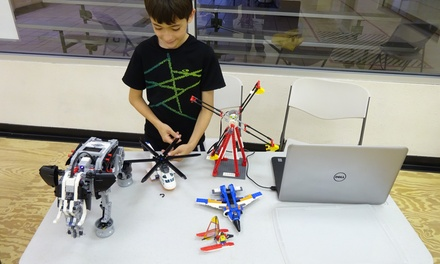 Up to 46% Off Full Day Robotics Summer Camp at Interactive Robotics Academy