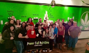 Power Full Nutrition - Team Weight Loss Challenge!: $16 for $29 Worth of Weight-Loss Program — Power Full Nutrition - Team Weight Loss Challenge!