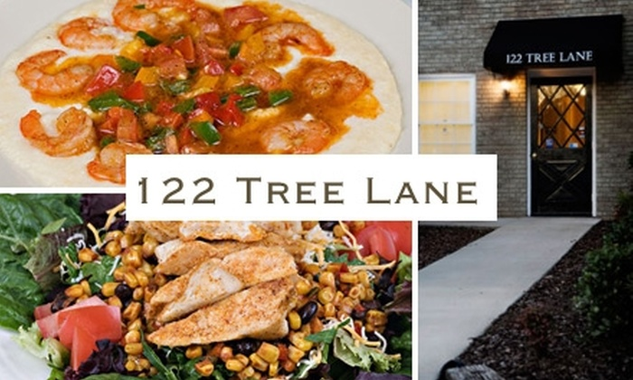 122 Tree Lane - Helena: $10 for $25 Worth of Cajun and Creole Dishes and Drinks at 122 Tree Lane