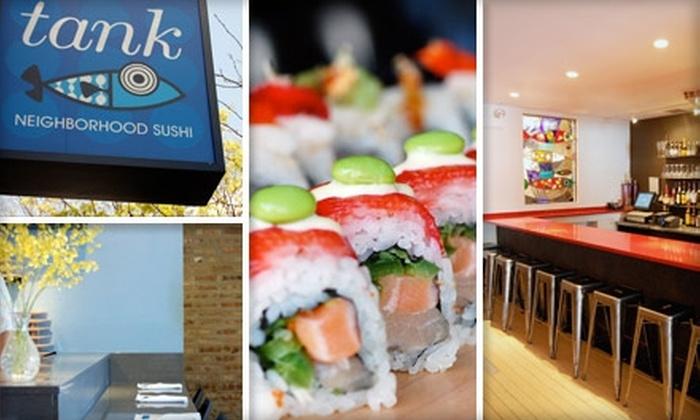 Tank Sushi - Ravenswood: $20 for $40 Worth of Maki, Nigiri, Tempura, and More at Tank Sushi