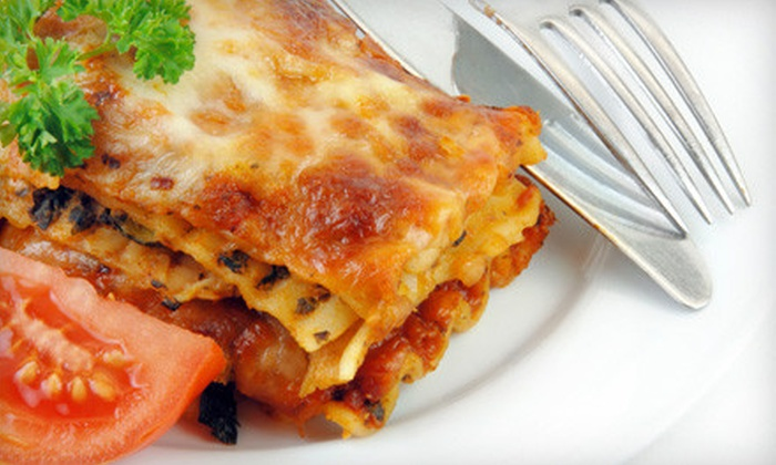 Casalinga Food Services - Garden Village: $45 for $90 Worth of Prepared Meals with Delivery from Casalinga Food Services