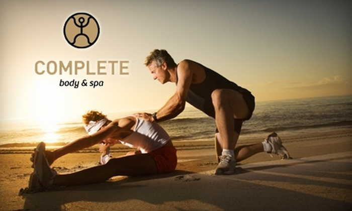 Complete Body & Spa - Multiple Locations: $60 for 60 Days of Membership and One Personal Training Session at Complete Body & Spa ($348 Value)