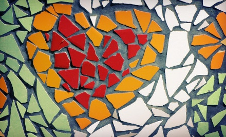 2-Hour Mosaic Class (a $90 value, Including Materials) - Old Town Stained Glass in Winchester