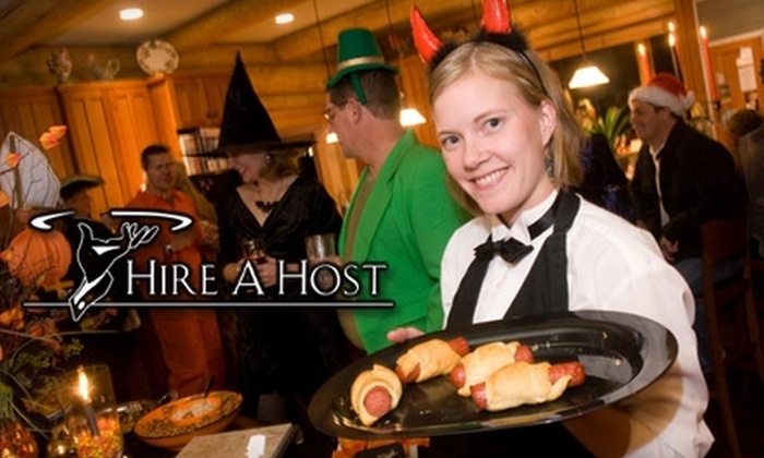 Hire a Host - Plymouth - Wayzata: $87 For a Professional Host or Bartender For 4 Hours From Hire a Host