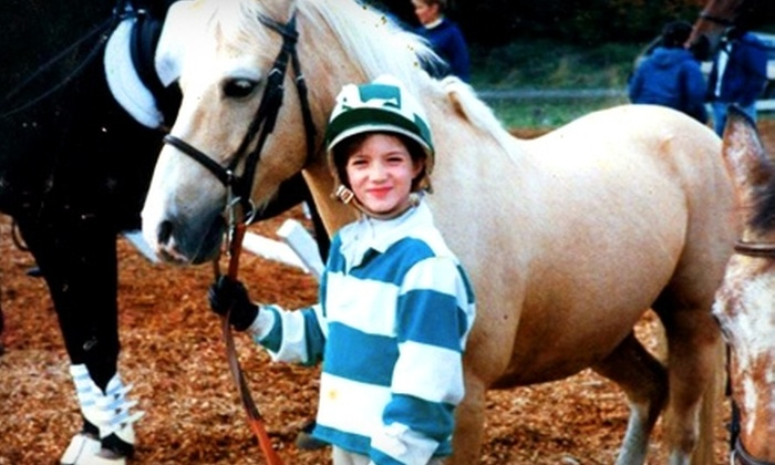 Brackenhollow Stables - Union Hill-Novelty Hill: $30 for an Introductory Horseback-Riding Lesson at Brackenhollow Stables in Redmond ($60 Value)