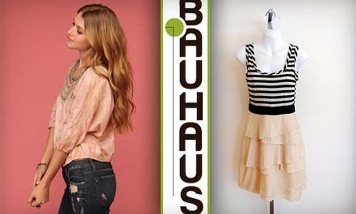 Bauhaus - Topeka / Lawrence: $25 for $50 Worth of Women's Apparel at Bauhaus