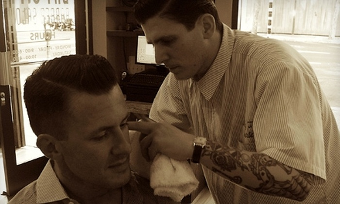 Bay City Barber Salon - Financial District: $37 for a Haircut and Shave at Bay City Barber Salon ($74 Value)