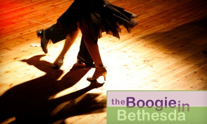 Boogie in Bethesda - Bethesda: $7 for a 90-Minute West Coast Swing Introductory Dance Lesson Plus Open-Floor Dancing at Boogie in Bethesda ($15 Value)