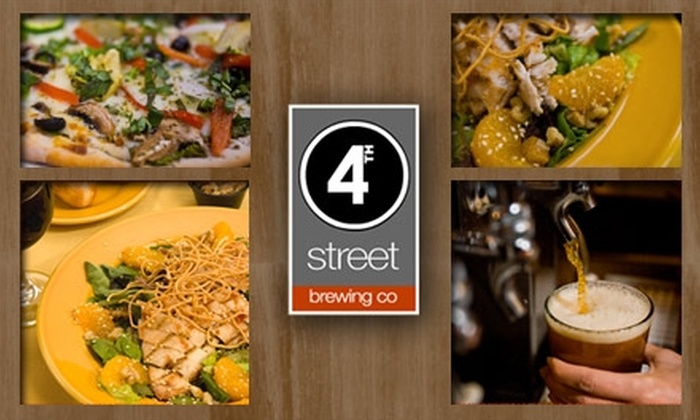 4th Street Brewing - Gresham - City Central: $15 for $35 Worth of Local Brews and Pub Grub at 4th Street Brewing Co.