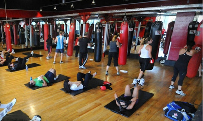The Boxing Club - University City: Private Self-Defense Lesson and Group Fitness Classes at The Boxing Club (Up to 89% Off). Two Options Available.