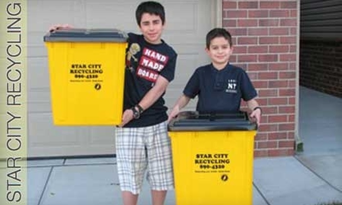 Star City Recycling - Lincoln: $29 for Six Months of Recycling with Star City Recycling ($66 Value)