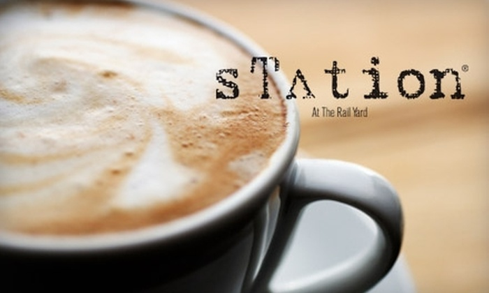 Station at the Railyard - Historic Guadalupe: $5 for $10 Worth of Coffee, Treats, and More at Station at the Railyard in Santa Fe