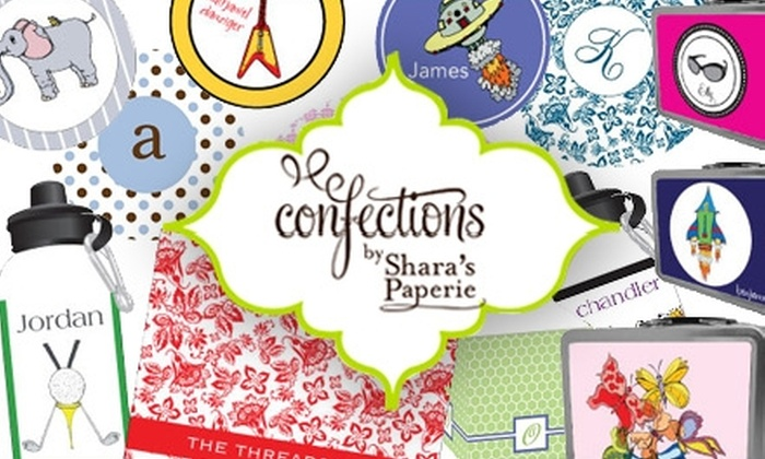 Confections by Shara's Paperie - Memphis: $15 for $30 Worth of Custom Stationery and Gifts from Confections by Shara's Paperie