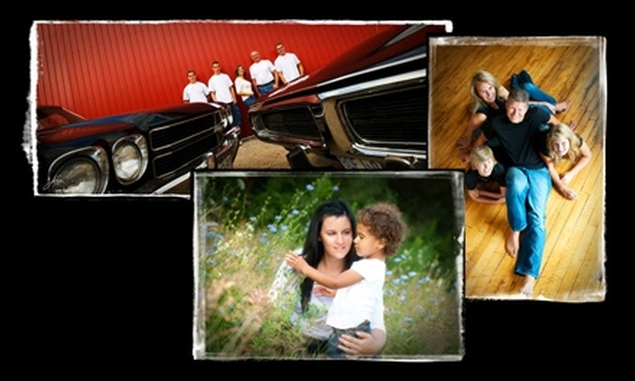 """Art and Soul Photography - Waterloo: $56 for a Professional Family Portrait Package Including an 11""""x14"""" Print from Art and Soul Photography in Waterloo"""