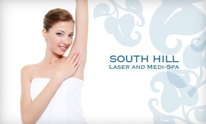 South Hill Laser and Medi-Spa - Lincoln Heights: $99 for Six Laser Hair-Removal Treatments at South Hill Laser and Medi-Spa ($810 Value)