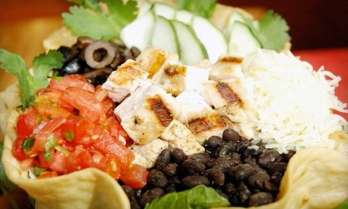 Barberitos - West Augusta: $10 for $20 Worth of Mexican Fare and Drinks at Barberitos