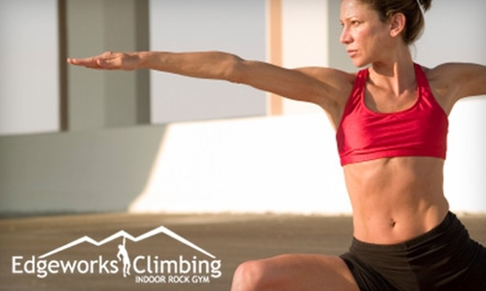 Edgeworks Climbing - West End:  $21 for Three Yoga or Pilates Classes at Edgeworks Climbing in Tacoma
