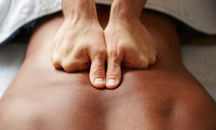 Choice of 50-Minute Full Body Pulse Massage at Edinburgh Wellbeing Centre (46% Off)