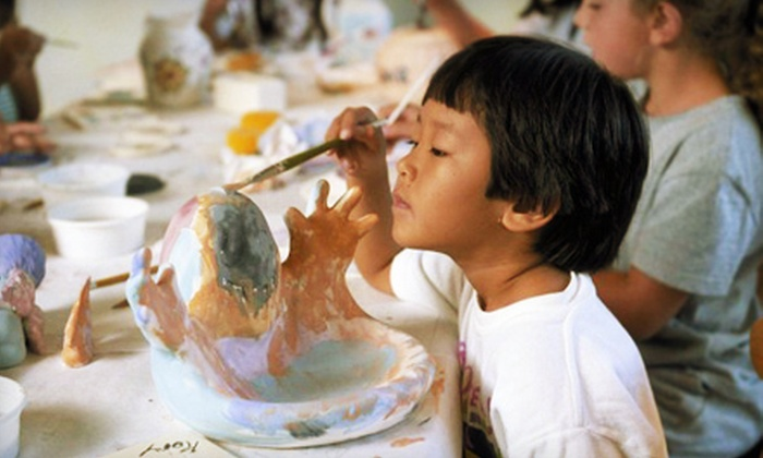 Color Me Mine  - Encino,West Van Nuys Lake Balbos: $25 for $50 Worth of Paint-Your-Own Ceramics and Studio Time at Color Me Mine in Encino